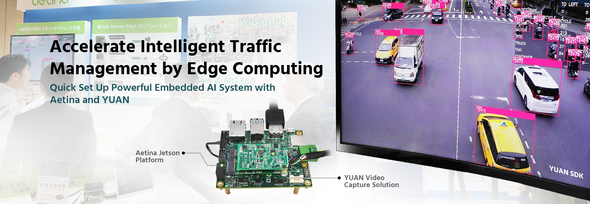 Quick Set Up Embedded AI System Accelerating Intelligent Traffic Management