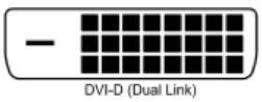 DVI-D(Dual link)